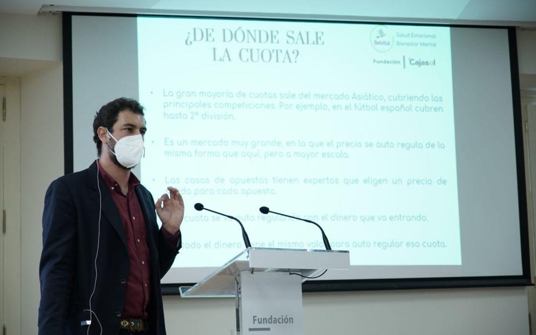 La prevención en la ludopatía en adolescentes y jóvenes, último tema de los talleres 'Sebital' en la Fundación Cajasol